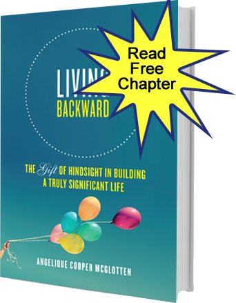 Living Backward, Angelique Cooper McGlotten, prayer, ministry